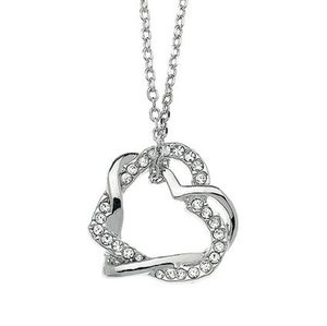♠️+ Swarovski® Diamonds Double Hearts Starlet